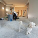 Home-remodeling in progress symbolizing the need for post-construction cleaning